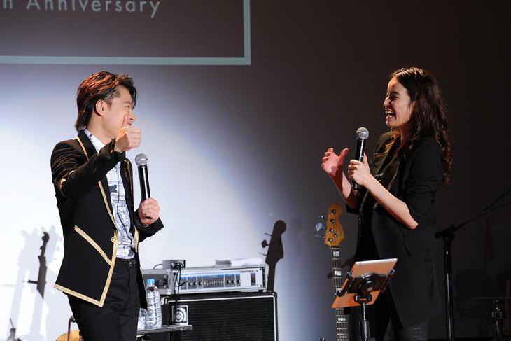 「知念里奈 20th Anniversary Memorial Concert」より。