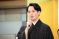 「新春浅草歌舞伎」製作発表より、中村歌昇。