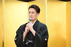 「新春浅草歌舞伎」製作発表より、中村隼人。