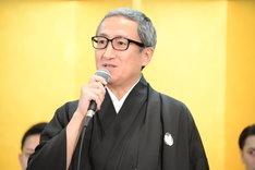 「新春浅草歌舞伎」製作発表より、中村錦之助。