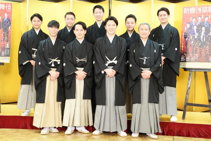「新春浅草歌舞伎」製作発表より。