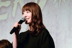 地球ゴージャスプロデュース公演Vol.15「ZEROTOPIA」製作発表より、花澤香菜。