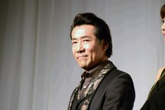 地球ゴージャスプロデュース公演Vol.15「ZEROTOPIA」製作発表より、岸谷五朗。