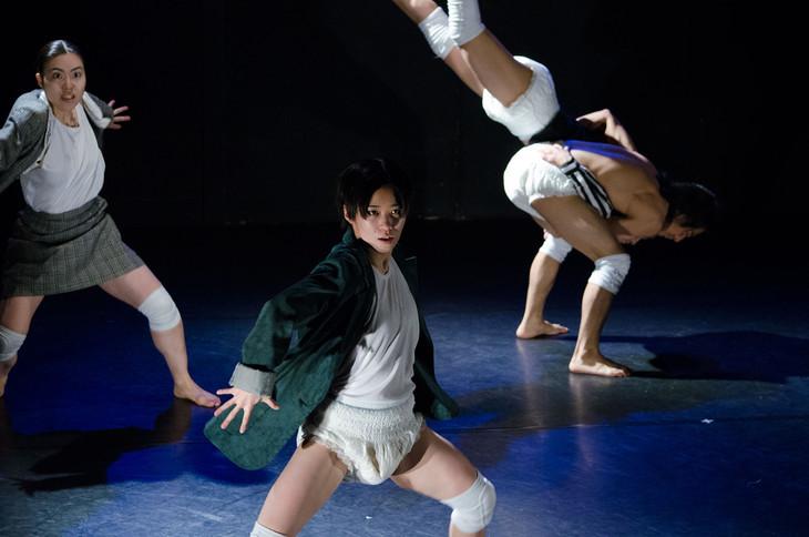 「ダンスがみたい!新人シリーズ15」新人賞のケダゴロ「厳しい第三者の目で…」より。