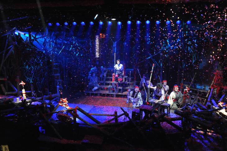 劇団桟敷童子「標~shirube~」より。(撮影:長田勇)