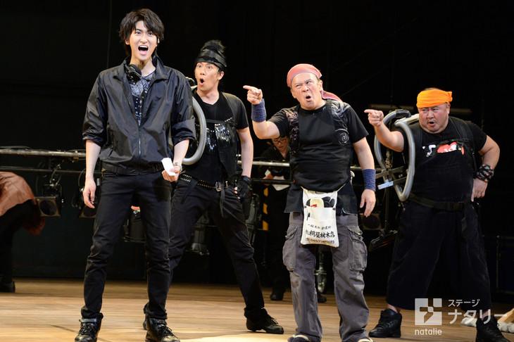 ミュージカル「HEADS UP!」再演の公開ゲネプロより。