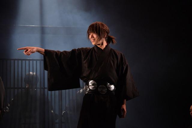 BSP(ブルーシャトルプロデュース)「『新選組』宵ノ章」ゲネプロより。松田岳演じる吉田稔麿。