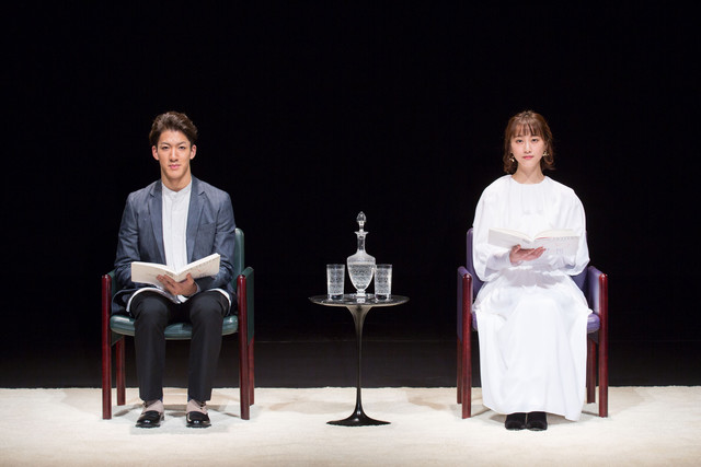 PARCO Produce「『ラヴ・レターズ』~青井陽治追悼公演~」より。(撮影:加藤幸広)