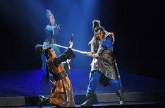 シネマ歌舞伎「歌舞伎NEXT 阿弖流為〈アテルイ〉」より。