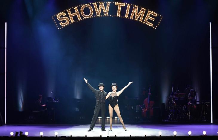 パルコ・ミュージック・ステージ「KOKI MITANI'S SHOW GIRL『ショーガール Vol.2~告白しちゃいなよ、you~』」舞台稽古の様子。(撮影:スズキメグミ)