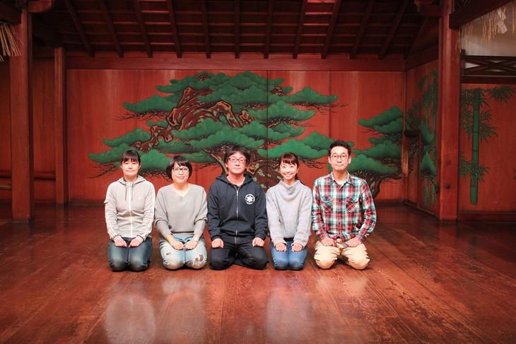 能×現代演劇 work#04「ともえと、」ビジュアル