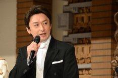 ミュージカル「ジキル&ハイド」製作発表記者会見より、石丸幹二。