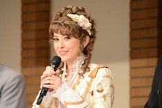 ミュージカル「ジキル&ハイド」製作発表記者会見より、宮澤エマ。