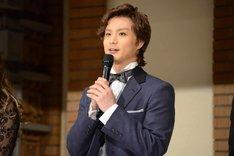 ミュージカル「ジキル&ハイド」製作発表記者会見より、田代万里生。