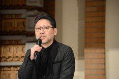 ミュージカル「ジキル&ハイド」製作発表記者会見より、山田和也。
