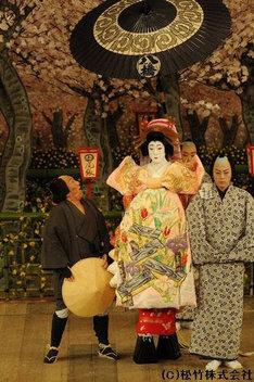 シネマ歌舞伎「籠釣瓶花街酔醒」より。