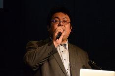 「佐藤佐吉大演劇祭2018in北区」実行委員長の北川大輔。