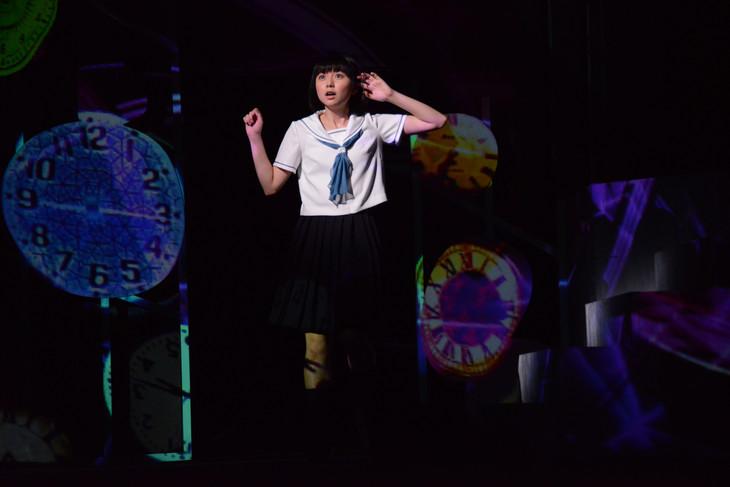 オールナイトニッポン50周年記念公演「続・時をかける少女」ゲネプロより。芳山和子(上白石萌歌)。