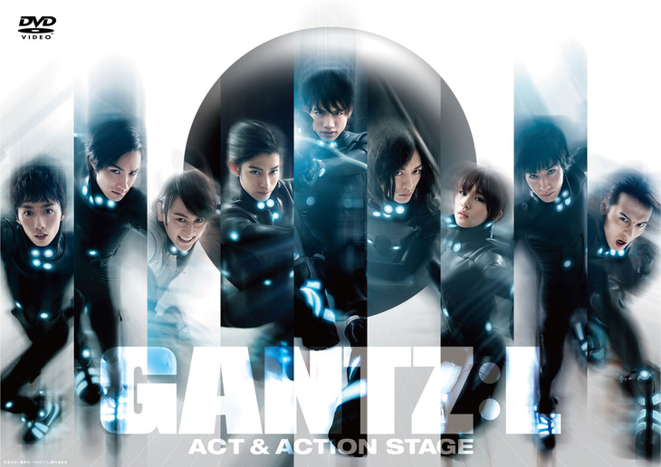 「『GANTZ:L』-ACT&ACTION STAGE-」DVDの仮ジャケット。