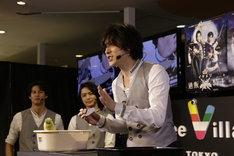 「イケメン通販騎士」公開収録イベントより。