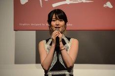 ミュージカル「モーツァルト!」製作発表会見より、生田絵梨花。
