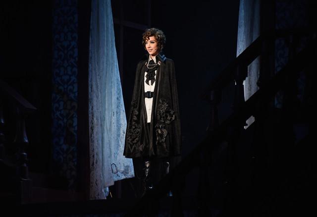 宝塚歌劇花組「ミュージカル・ゴシック『ポーの一族』」より、明日海りお演じるエドガー・ポーツネル。