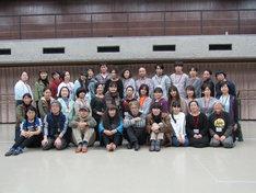 名古屋市芸術創造センター演劇アカデミー修了公演「科学する探偵~名古屋から乱歩を支えた作家・小酒井不木の生涯~」稽古の様子。