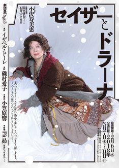 劇団昴Page3「セイザーとドラーナ」チラシ表