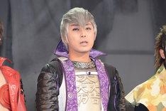 石田三成役の沖野晃司。