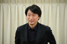 「怪人二十面相 ~黒蜥蜴 二の替わり~」記者懇親会より、喜多村緑郎。