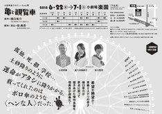小宮孝泰プロデュースvol.8「亀と観覧車」チラシ裏