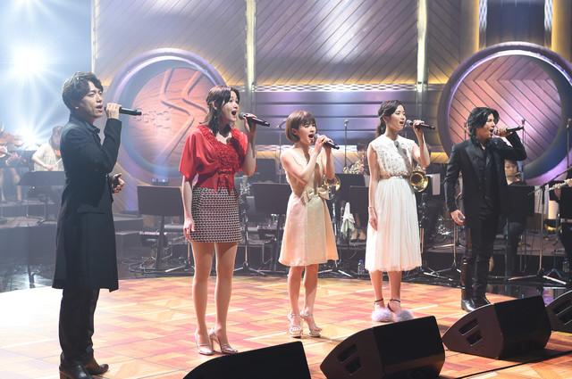 """BS-TBS「『Sound Inn """"S""""』~ミュージカルスペシャル」より。"""
