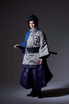 中村隼人扮するうちはサスケ。