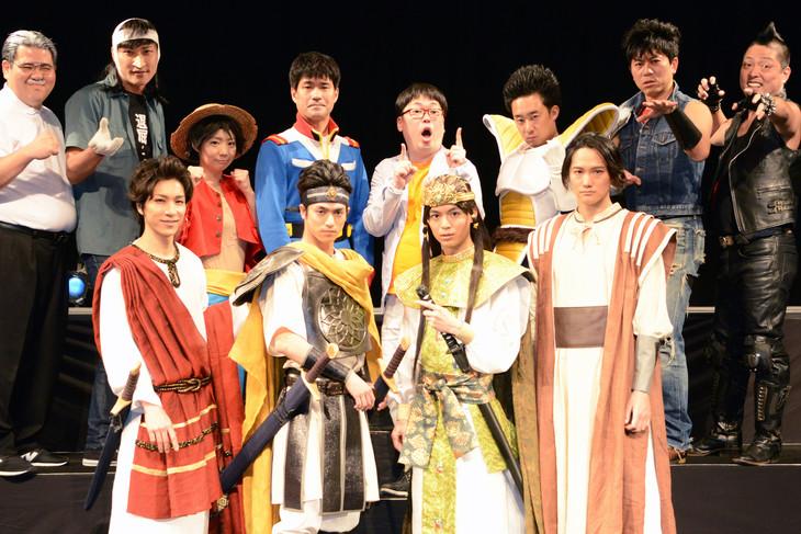「劇団アニメ座ハイブリッドー舞台俳優は伊達じゃない!ー」囲み取材より。