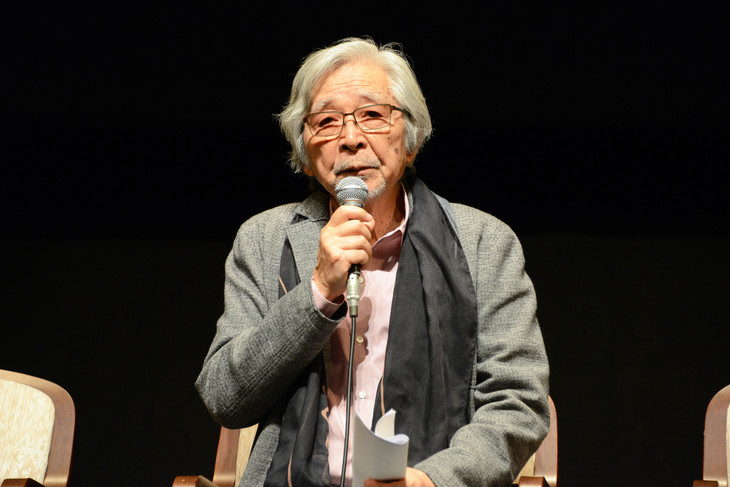 """こまつ座「父と暮せば」および「戦後""""命""""の三部作」製作発表より、山田洋次。"""