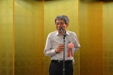 第62回岸田國士戯曲賞授賞式より。平田オリザ。