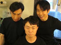 左から小松和重、佐藤貴史、久ヶ沢徹。