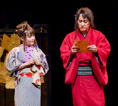 cube 20th Presents Japanese Musical「戯伝写楽 2018」より。(撮影:桜井隆幸)