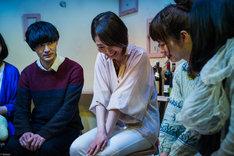 今年2018年4月に上演された、かわいいコンビニ店員飯田さん「僕をみつけて」より。(photo by bozzo)