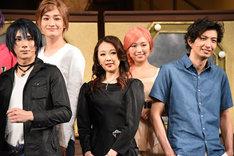 左から松田岳、川村玲央、蒼乃夕妃、大原優乃、吉岡佑。