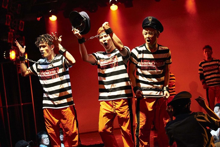 「BREAK FREE」東京公演より。