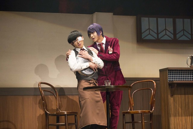 「舞台『東京喰種トーキョーグール』~或いは、超越的美食学をめぐる瞑想録~」より。