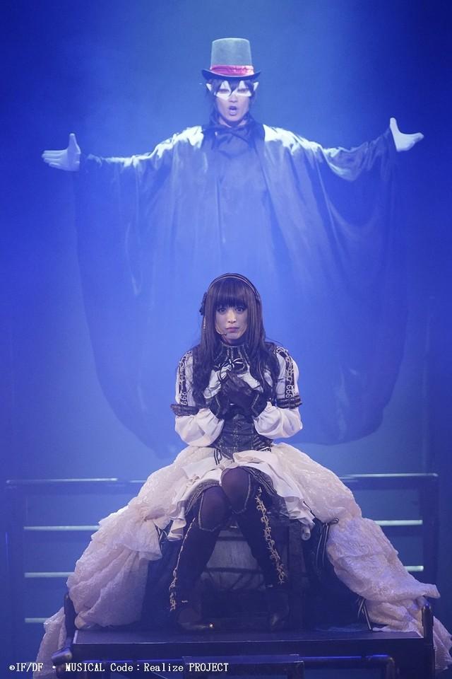 ミュージカル「Code:Realize ~創世の姫君~」ゲネプロより。