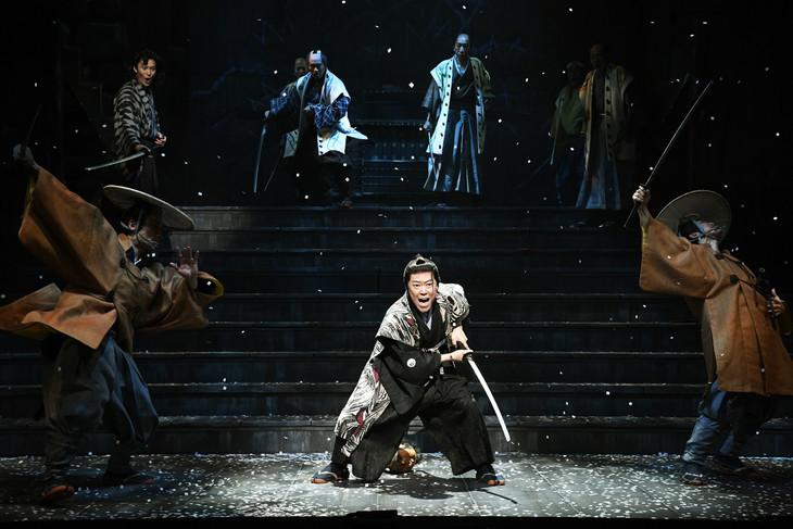 シアターコクーン・オンレパートリー2018「ニンゲン御破算」より。(撮影:細野晋司)