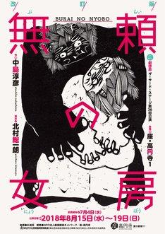 劇団昴 ザ・サード・ステージ 第36回公演「改訂版 無頼の女房」チラシ表