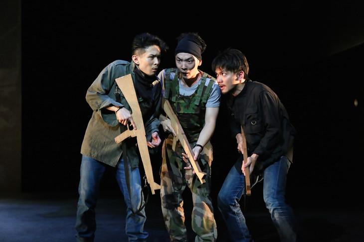 さいたまネクスト・シアター0(ゼロ)世界最前線の演劇1「ジハード―Djihad―」より。(撮影:宮川舞子)