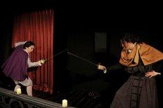 劇団現代古典主義 アトリエ舞台公演 The 4th floor series vol.3「スペインの悲劇~ヒエロニモの怒り~」より。