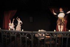 劇団現代古典主義 アトリエ舞台公演 The 4th floor series vol.3「スペインの悲劇~ヒエロニモの怒り~」ゲより。