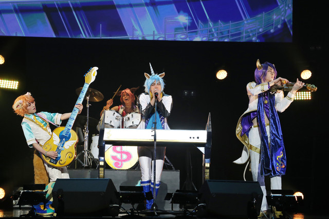 「Live Musical『SHOW BY ROCK!!』~THE FES 2018~」より。