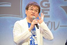 音楽監督の田中公平。